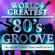 40 - Worlds Greatest 80's Hits- the only 80's hits album you'll ever need (MP3 Album) £1.99 @ Play