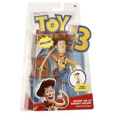 Buzz Lightyear & Woody Figures - £4.25 Each With Code @ The Hut