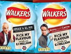 Walkers Comic Relief 6 packs -  50p Instore Morrisons