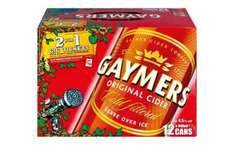 12 x 440ml cans Gaymers Cider - £6.99 at Lidl