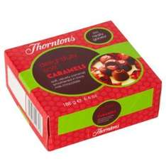 Thorntons Soft Caramels 188g Box just £1 @ Home Bargains