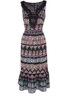Oasis Gypsy Midi Dress - Was £55 Now £25 @ House of Fraser