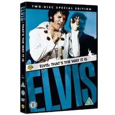 Elvis: That's The Way It Is (1970) (Special Edition) (DVD) (2 Disc) - £3.99 @ Amazon
