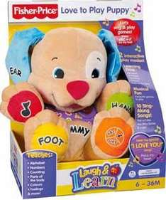Fisher Price Laugh & Learn Puppy - £11.99 *Instore* @ Home Bargains