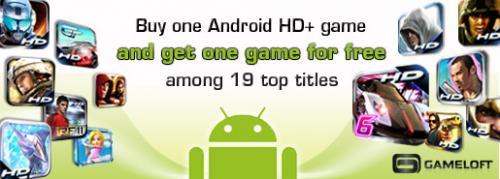 gameloft android hd games bogof