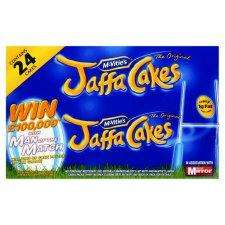 Mcvities Jaffa Cakes Twin Pack 2X150g 24Pk £1.95 BOGOF @ Tesco from Wednesday