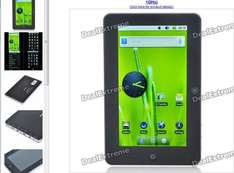 """7"""" Multi-Touch Screen Google Android 2.2 Tablet PC w/ WiFi/HDMI/Camera/TF/USB (Cortex-A8 1GHz) - £123.78 Delivered @ Deal Extreme"""