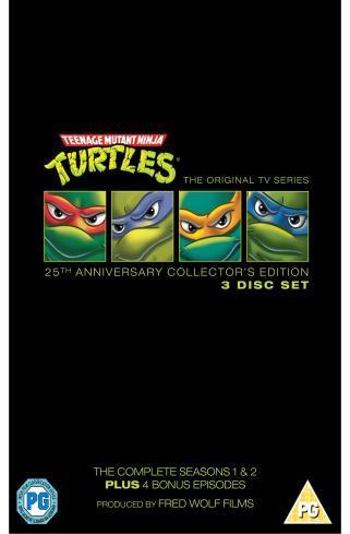 Teenage Mutant Hero Turtles: Complete (90s Original Cartoon) (DVD) - £9.99 @ Play & Amazon
