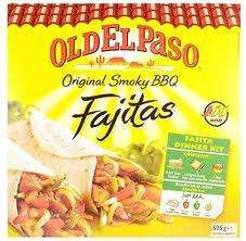 Old El Paso Smoky BBQ Fajitas dinner kit only £1.49 @ Morrisons