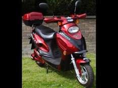 Elecscoot-1 Electric Scooter - Clearance Price (exc delivery+reg) £895 - £1,051.63 Delivered @ Elecscoot