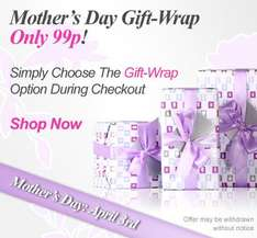 99p gift wrap on cheapsmells for mothers day