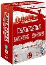 Law & Order: Seasons 1 Box Set (DVD) - £15.95 @ Base