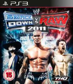 WWE Smackdown Vs Raw 2011 For PS3 - £13.85 Delivered @ The Hut