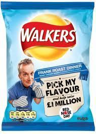 Walkers Frank Roast Dinner Crisps 34.5g 10p @ B&M