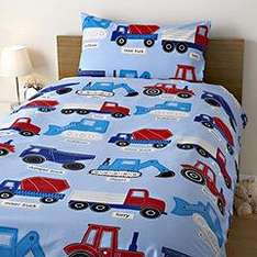 Construction Duvet Set - Single Bed - 1/2 price in store - £6.00 - Sainsburys