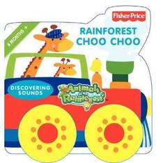 Fisher Price Animals of The Rainforest - Rainforest Choo Choo: Discovering Sounds Board Book - £1.29 *Instore* @ Instore (Formerly ££ Stretcher)