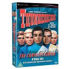 Thunderbirds: Complete Collection Box Set (DVD) (9 Disc) - £13.99 @ Amazon & Play
