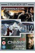 3 Film Box Set - 2012 / Terminator Salvation / Children of Men (DVD) - £7.19 @ Play
