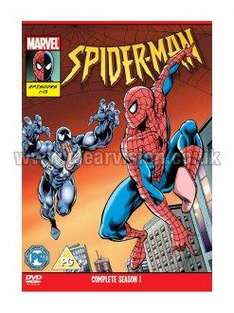 Spider-Man: The Animated Series (1994) (DVD) (2 Disc) - £6.99 Each @ Clearvision