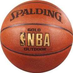 Spalding NBA Gold Outdoor Basketball, Official Size 7 £17.71 Delivered @ OutdoorGB