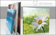 "£19.99 (+£6.50 shipping) for an A3 canvas print ""worth £80"" from Uk Canvas @ KGB Deals"
