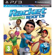 Racket Sports (Move Compatible) (PS3) - £9.99 @ Amazon