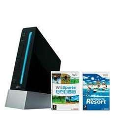 Black Nintendo Wii Console With Wii Sports, Wii Sports Resort & MotionPlus - £133.98 Delivered @ Ebay Argos Outlet