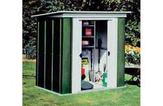 Large 8' x 4' Metal Pent Shed now £110.49 using SHED15 Code @ Argos (+ Delivery £8.95)