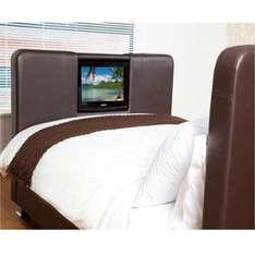 "Oslo Double Bed (Includes Built-in 19"" Samsung TV) - £399 + £36 Postage @ TJ Hughes"