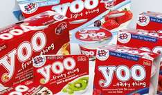 Yoo yoghurt introductory prices £1 at Tesco in store!