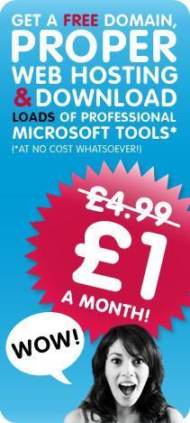 Student Web Hosting & .biz Domain Name *Hosting Plus Package* -  £1 Per Month For 1 Year @ 123-Reg