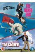 Comedy Triple: The Naked Gun / Airplane / Top Secret (3 DVD) - £3.99 @ Play + Quidco