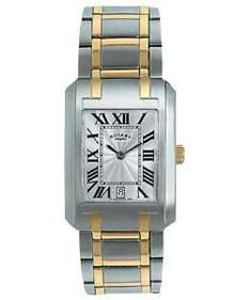 Rotary Men's Rectangular Dial Two Tone Bracelet Watch - Was £59.95 Now £26.99 @ Argos