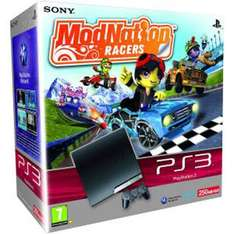 Playstation 3 Slim Console: 250GB With ModNation Racers - £230 Delivered @ Game