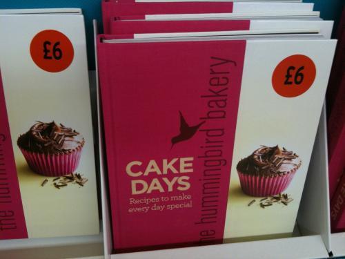 Hummingbird bakery - Cake Days - £6 @ Sainsburys