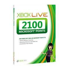 Xbox Live 2100 Points Card - £14.49 Delivered @ 7 Day Shop