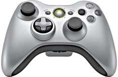 Xbox 360 Silver Controller With Play & Charge Kit - £29.99 @ Argos