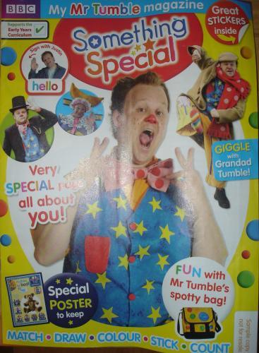 Free Kids TV Comic - Something Special/Mr Tumble @ ELC