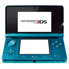 Nintendo 3DS Console In Aqua Blue or Comsos Black - £186.99 Delivered @ Ebay Zavvi Outlet