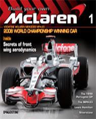 Build your own 1:8 scale 2008 Mclaren F1 car