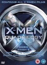 X-Men Quadrilogy: X-Men /  X-Men 2 /  X-Men: The Last Stand /  X-Men Origins: Wolverine (DVD) - £7.95 @ DVD