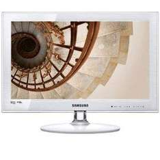 """Samsung UE22C4010 22"""" Widescreen HD Ready Slim LED TV With Freeview- White - £189.99 Delivered @ Amazon"""