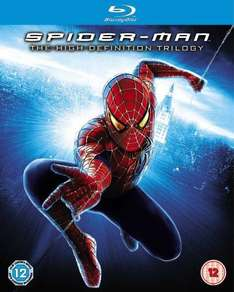 Spider-Man Trilogy [Blu-ray] [2002] - £14.39 Delivered @ Amazon UK
