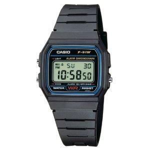Casio Men's Watch F-91W-1YEF - £8 @ Amazon