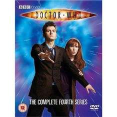 Doctor Who: Complete Series 4 (DVD) - £15.93 @ Amazon