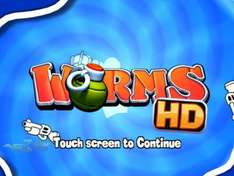 Worms HD For iPad - Only 59p Also For iPhone & Touch Non HD Version @ iTunes
