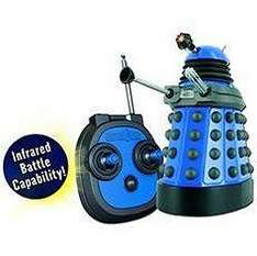 Doctor Who: 6 Inch Remote Control Dalek With Infrared Combat System - £6.97 *Delivered To Store* @ Tesco Direct