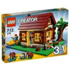 Lego Creator Log Cabin - £17.99 Delivered @ Amazon & Play.com