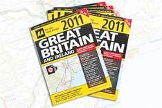 Free AA Road Atlas 2011, 80 A3 Pages (rrp £6.99) With Saturday's Daily Telegraph