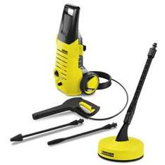 Karcher K2.38 Audit Pressure Washer with T50 Patio Cleaner & Dirtblaster - £79 @ TJ Hughes